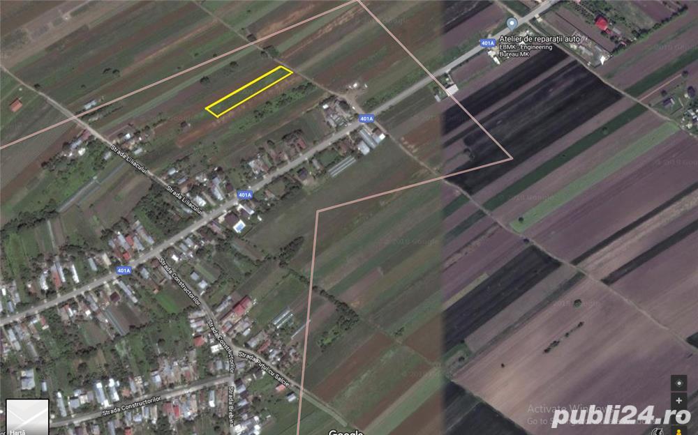 Vanzare  terenuri constructii  20 ha Giurgiu, Gradinari  - 280000 EURO