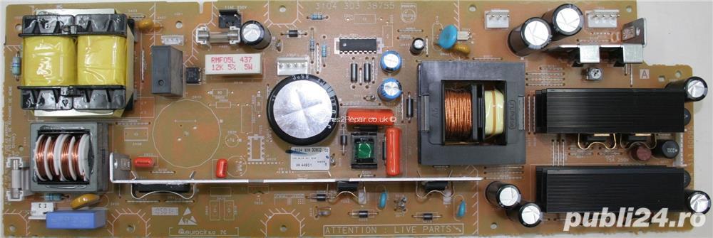 Module diverse dintr-un TV LCD Philips model 30PF9946/12 sasiu LC4.6E AA