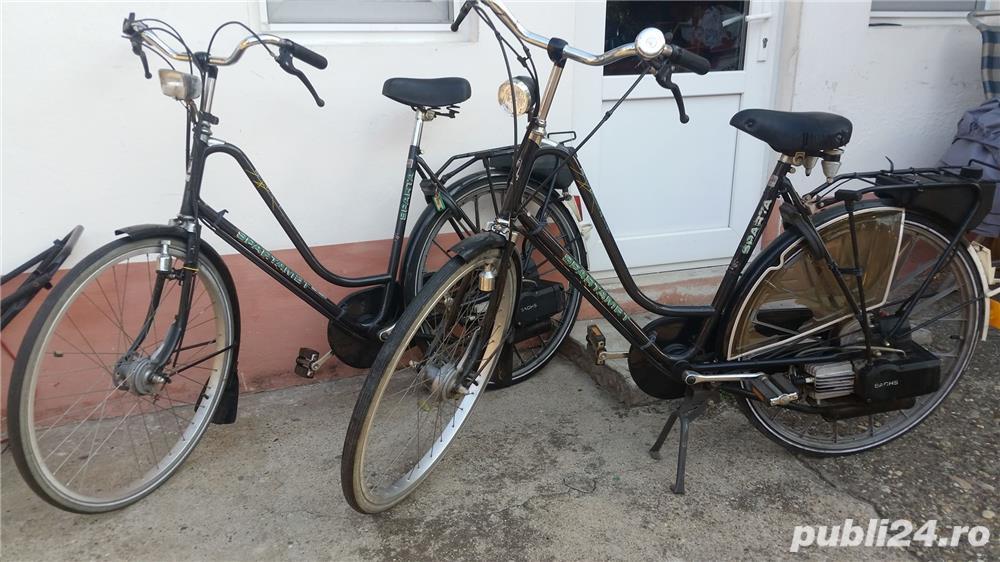 bicicleta  saxonette   cu motor pe benzina