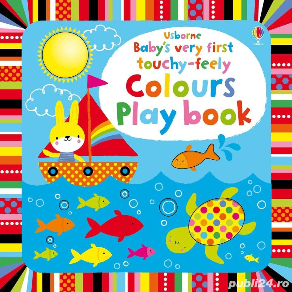 Baby's Very First Touchy Feely Colours Playbook - Usborne
