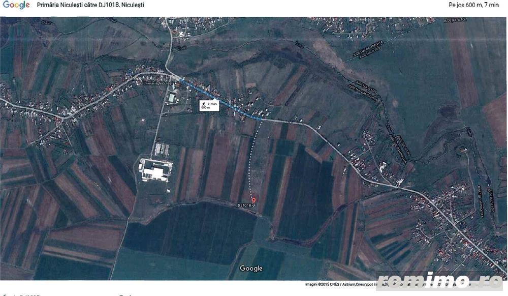 Vanzare teren Niculesti, judetul Dambovita