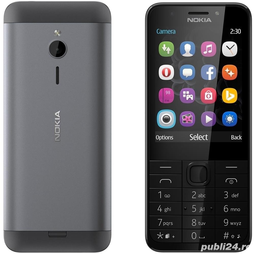 Telefon Refurbished Nokia 230 Single Sim Black L219