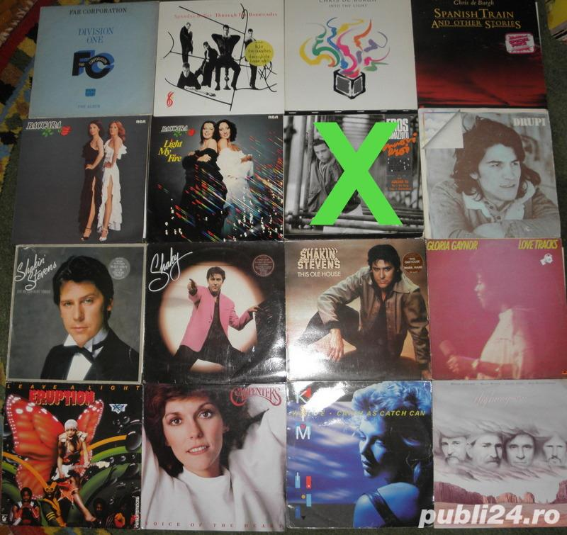 vinil Spandau Ballet,Far Corporation,Chris De Burgh,Johnny Cash,Drupi