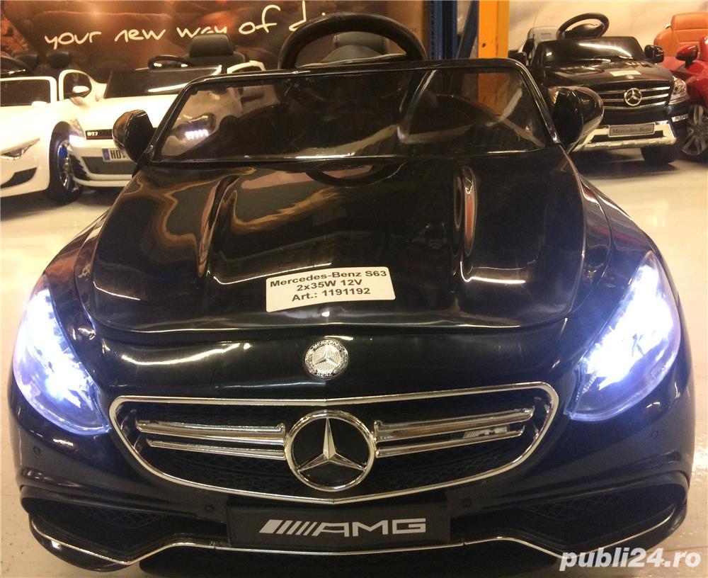 Masina Electrica Mercedes S63 Pentru Copii New 2019