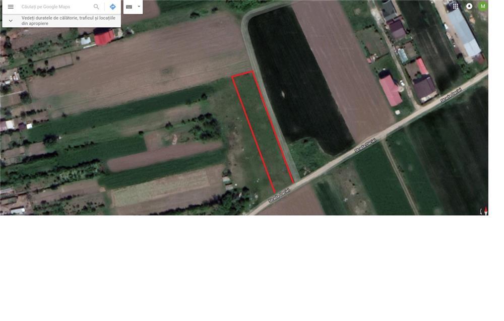Vanzare  terenuri constructii  1700 mp Ilfov, Teghes  - 49300 EURO