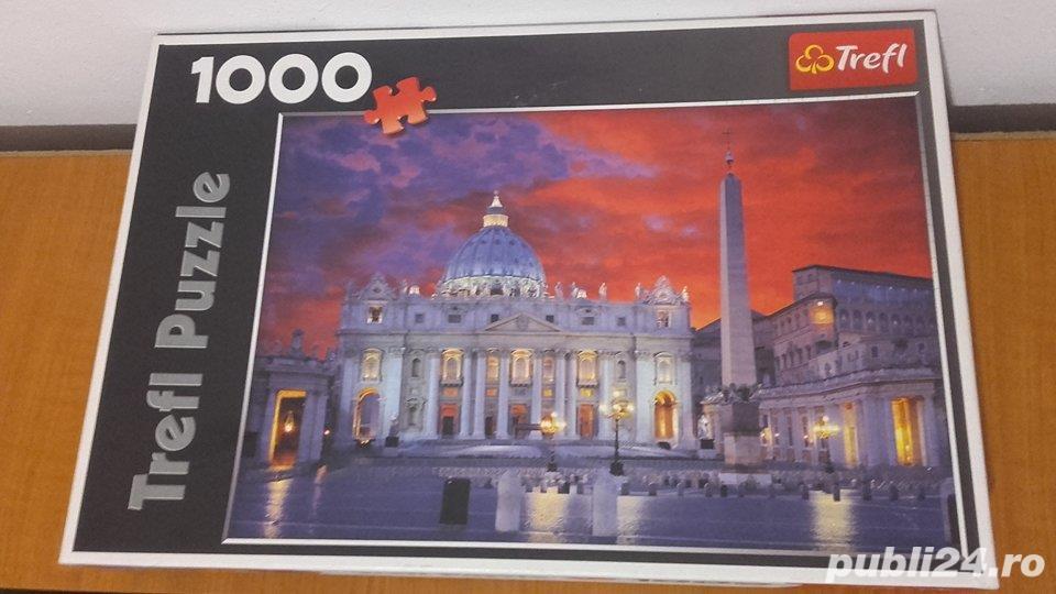 Puzzle Trefl Basilica San Pietro din Roma-1000 piese