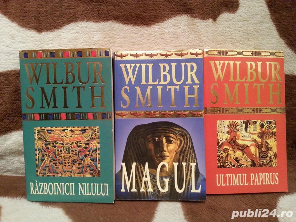 SAGA EGIPTULUI-WILBUR SMITH (3 VOL)
