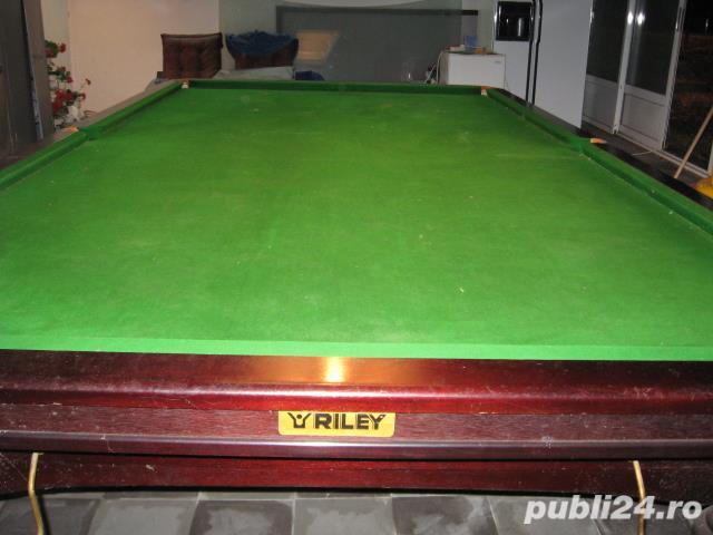 masa snooker Riley 10