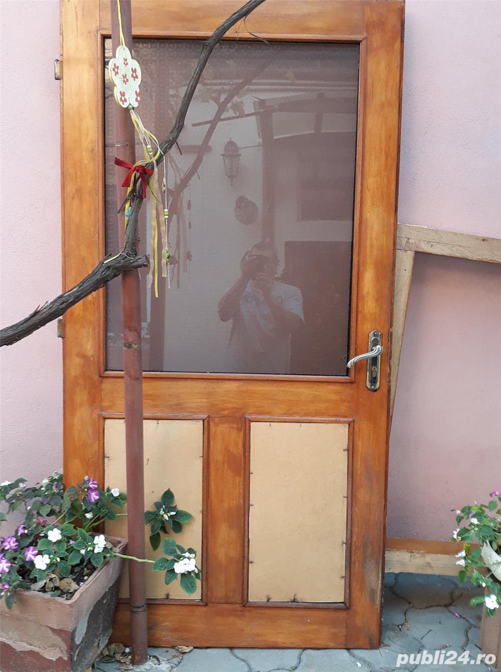 foaie usa intrare la casa