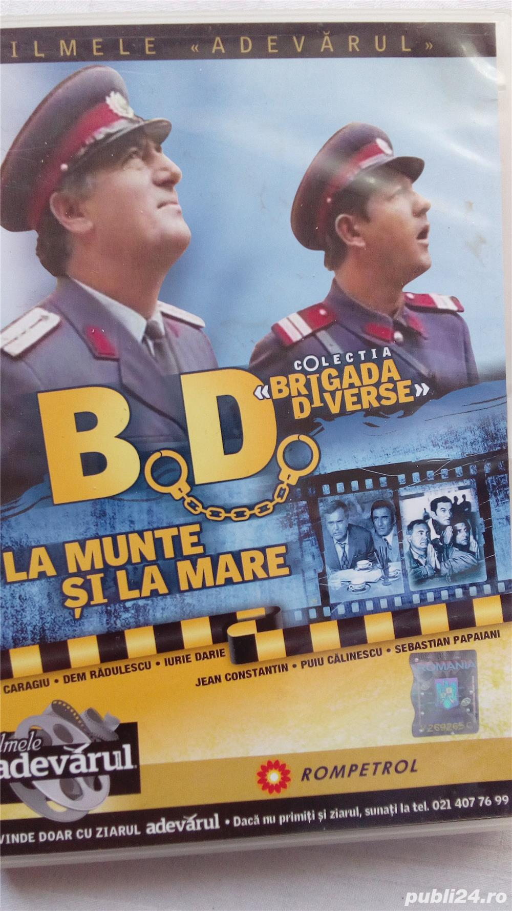 Vand colectia cu filme Brigada diverse