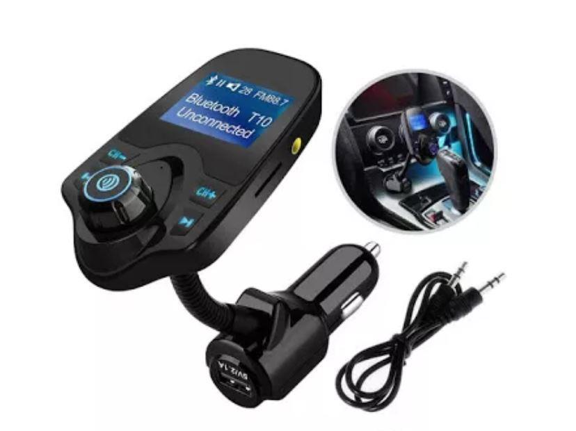 Car Kit Auto Functie de modulator FM ,Bluetooth T10