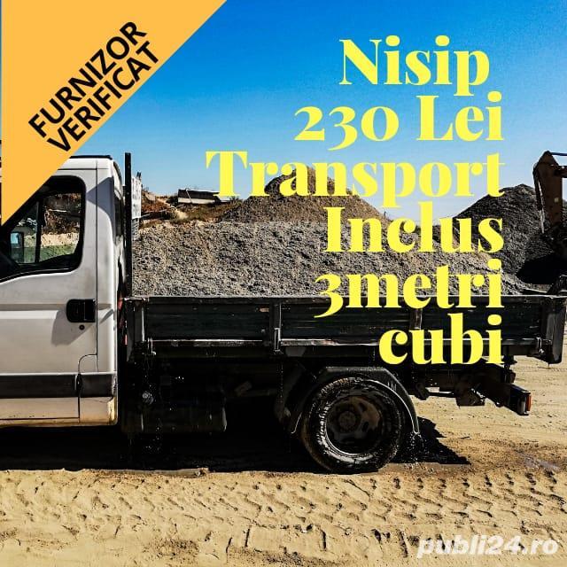 Transport nisip Bucuresti, transport piatra, transport balast