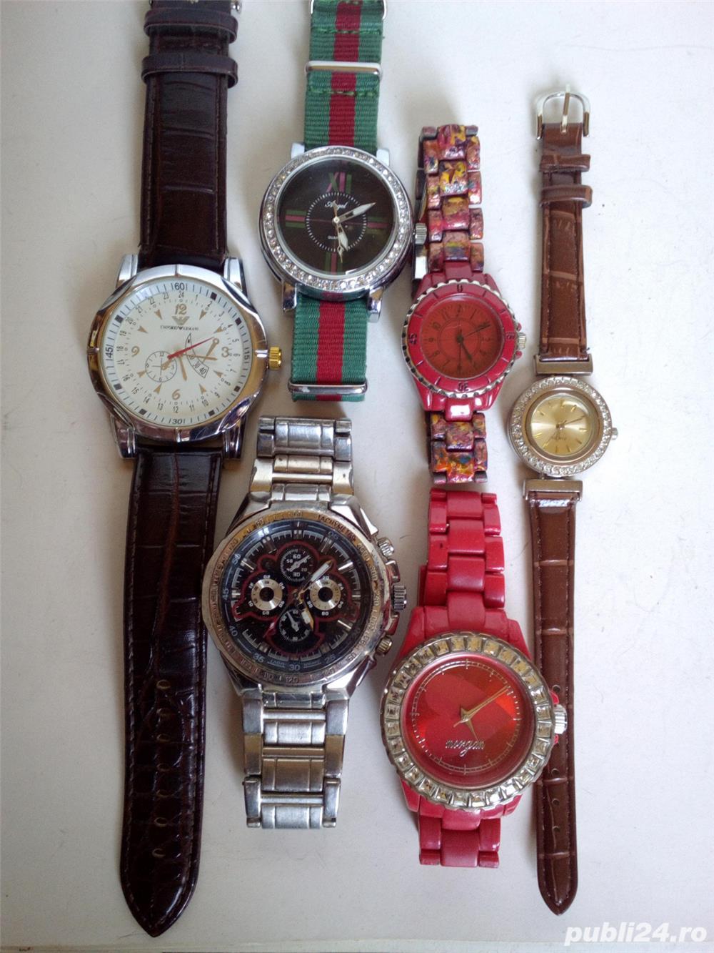 6 ceasuri second hand, folosite, functionale