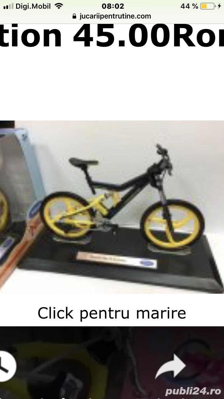 Bicicleta macheta