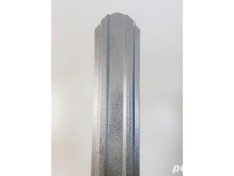 Șipcă metalică 2D zincată fălțuită nevopsită 9 cm, 20% Reducere, Transport Gratuit