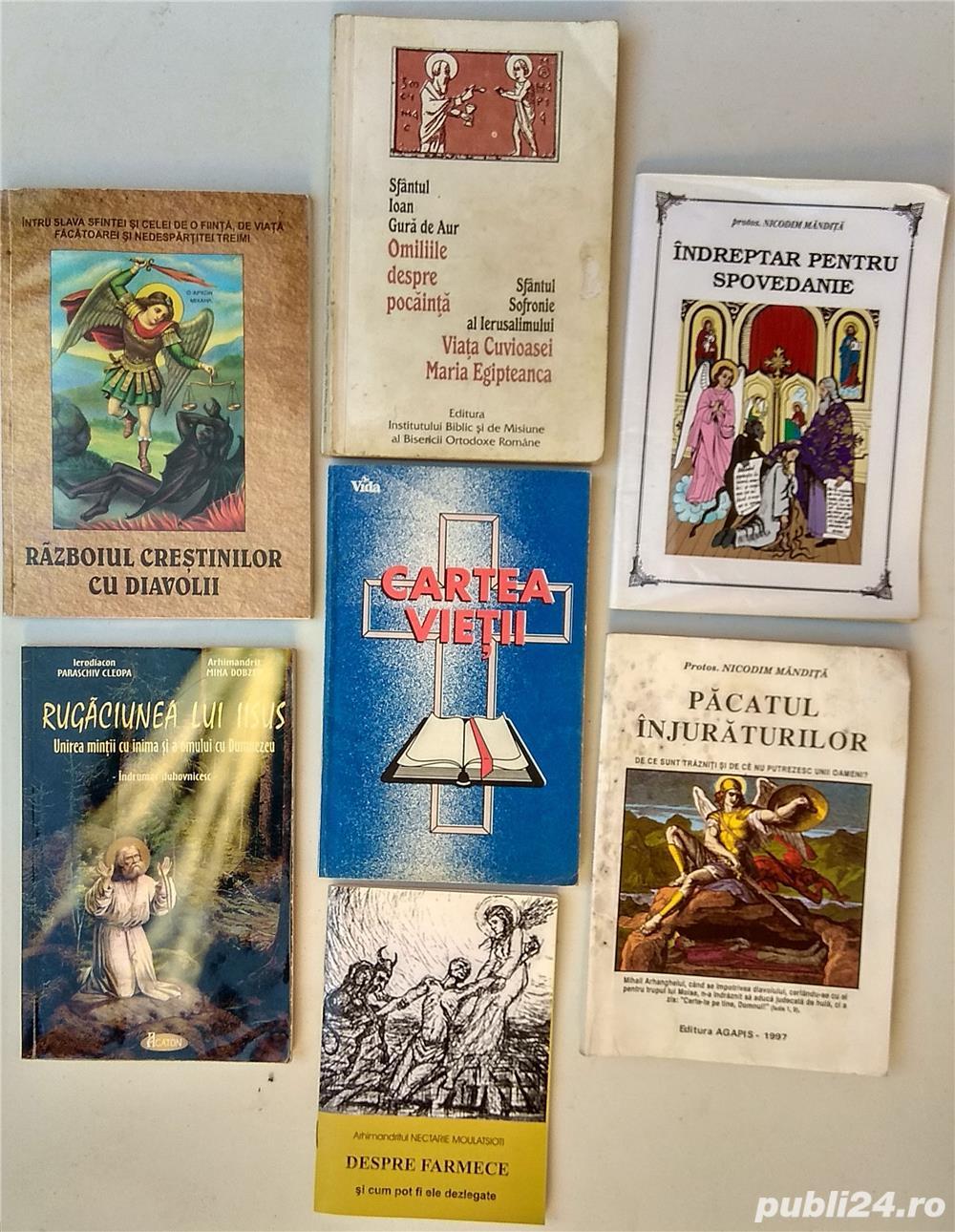 Carti religie, crestinism, ortodoxie, invataturi bisericesti, Sf. Ioan Gura de Aur, etc.