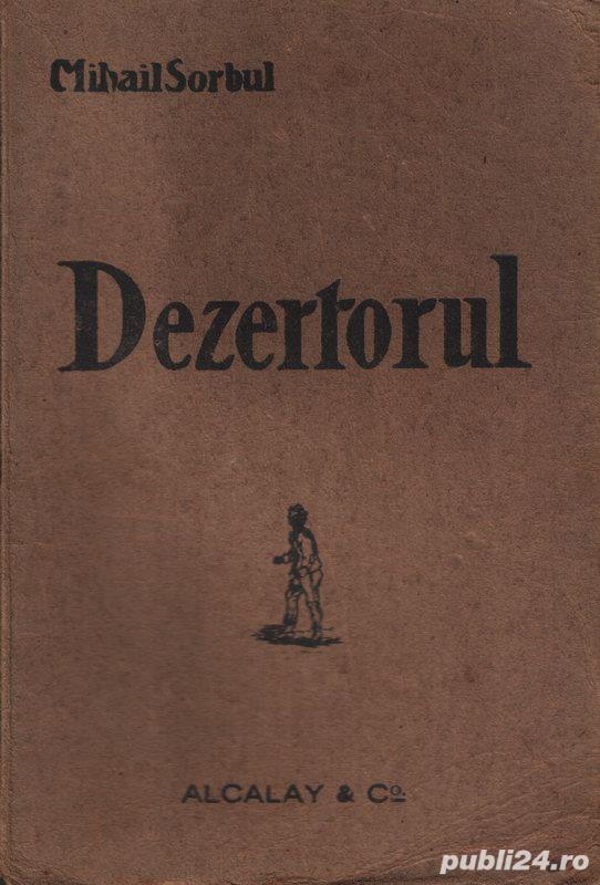 Dezertorul- comedie tragică în 3 acte de Mihail Sorbul (1921)