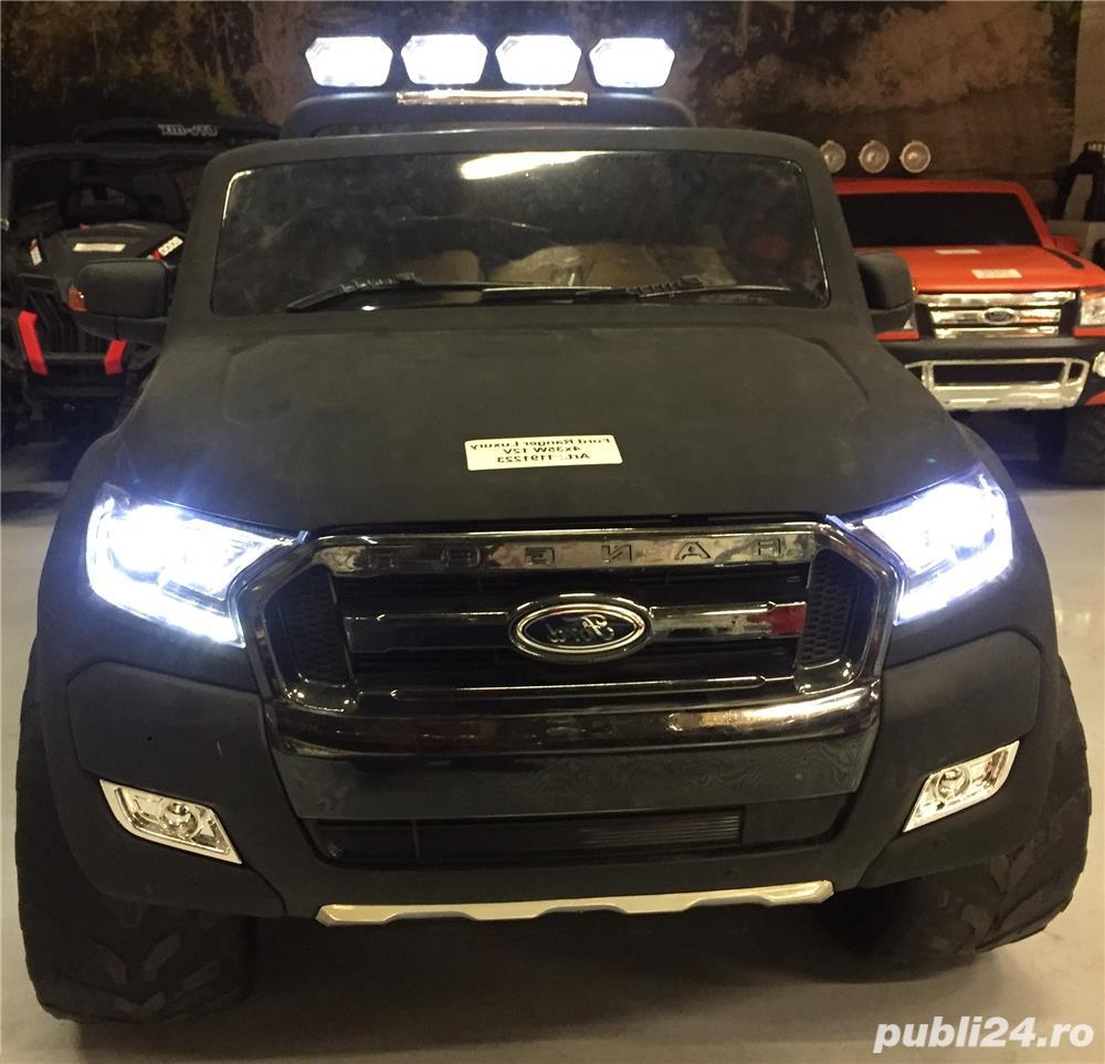 Masinuta Cu Telecomanda Ford Ranger 4x4 (Modelul Nou) Pentru Copii New 2018
