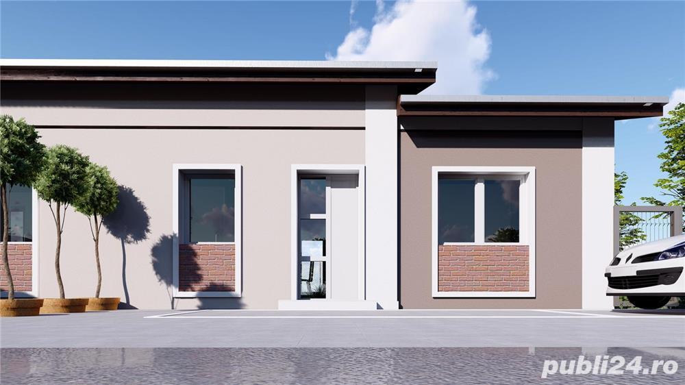 SUPEROFERTA ! Duplex, proiect nou, la asfalt, toate utilitatiile, la cheie, Terasa, teren 400mp.