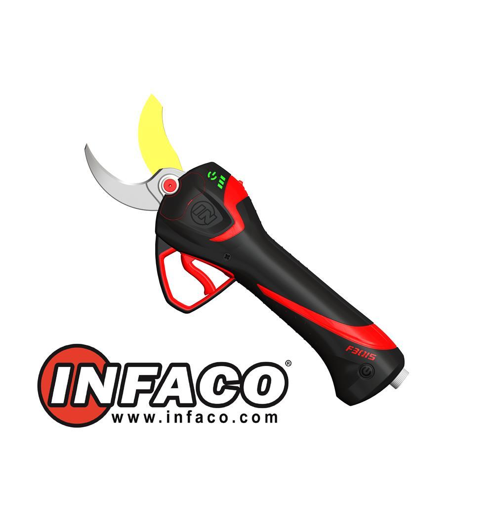 Foarfeca electrica INFACO F3015 pentru vie si pomi