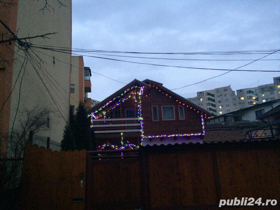 Vând casă cu etaj (mansardă frumoasă lemn) in Cluj-Napoca  zona Kaufland Mărăşti