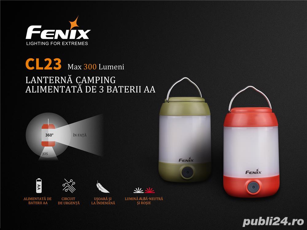 FENIX CL23 - Lanternă camping - 300 Lumeni - 20 metri