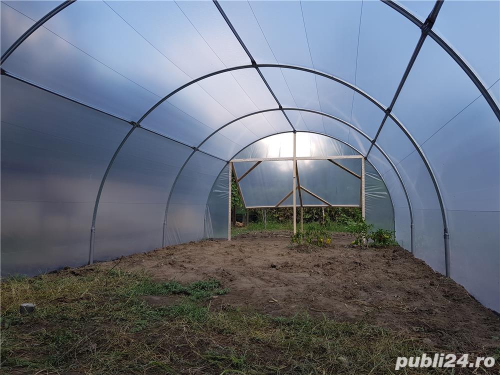 Solar zincat 10 x 4 m pt. legume, flori, rasaduri - 1950 RON