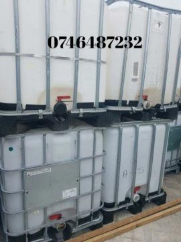 Rezervoare,containere ibc 1000 l si 600 l,butoi inox