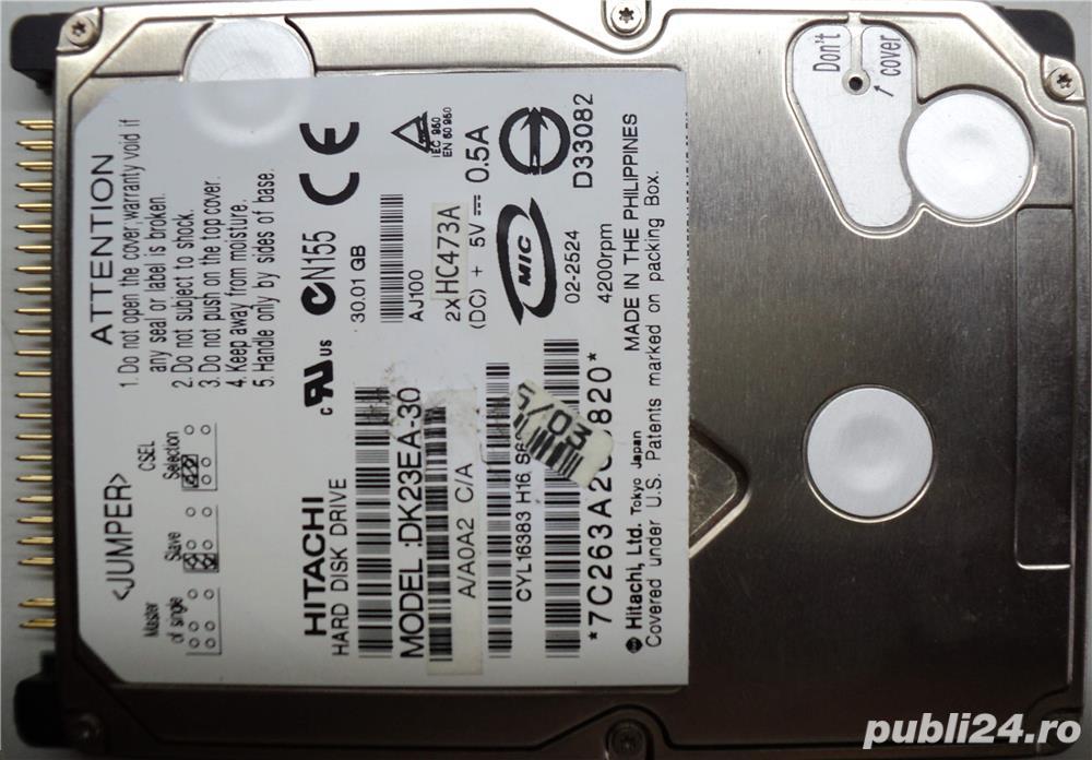 "Hard Disk 2,5"" IDE HDD-30 Gb HITACHI CODE: DK23EA-30"