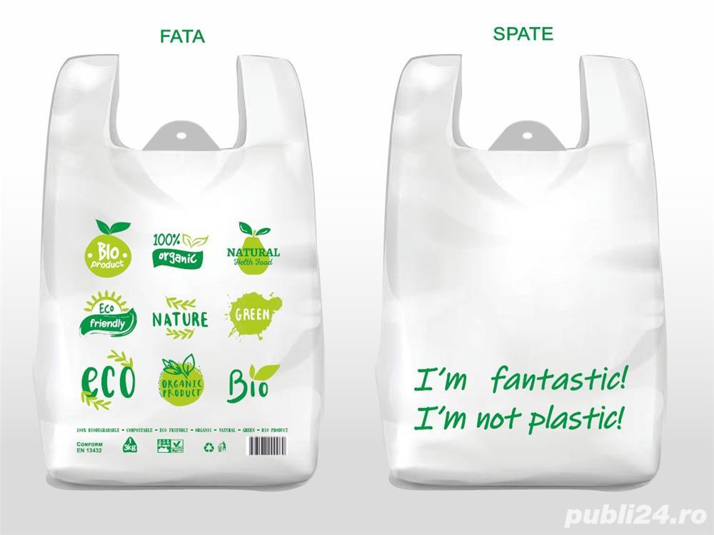 """Pungi 100% biodegradabile - model """"Eco Friendly"""""""