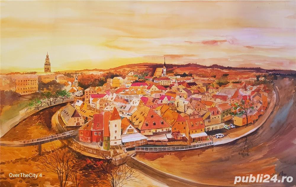 Tablou peisaj Praga