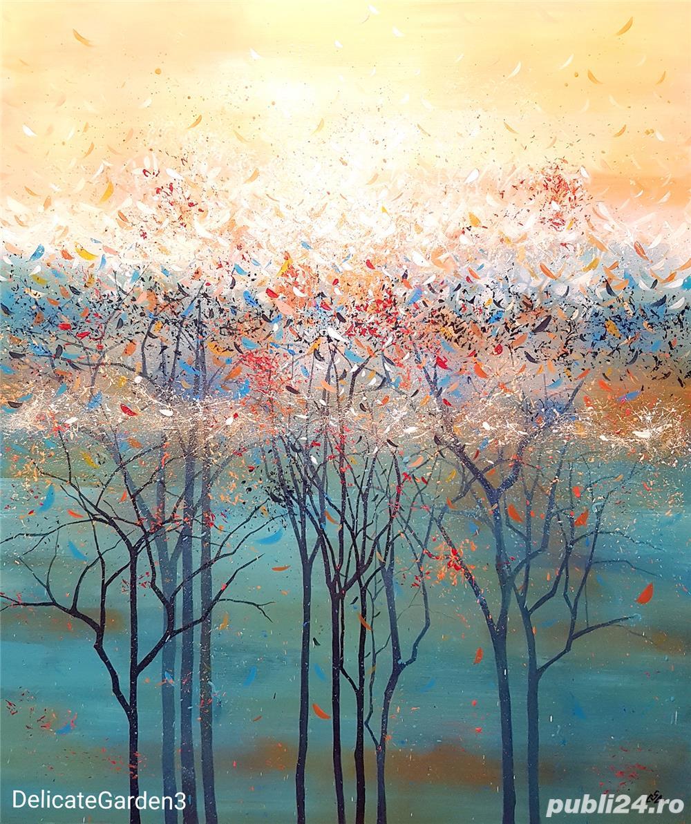 Tablou peisaj abstract