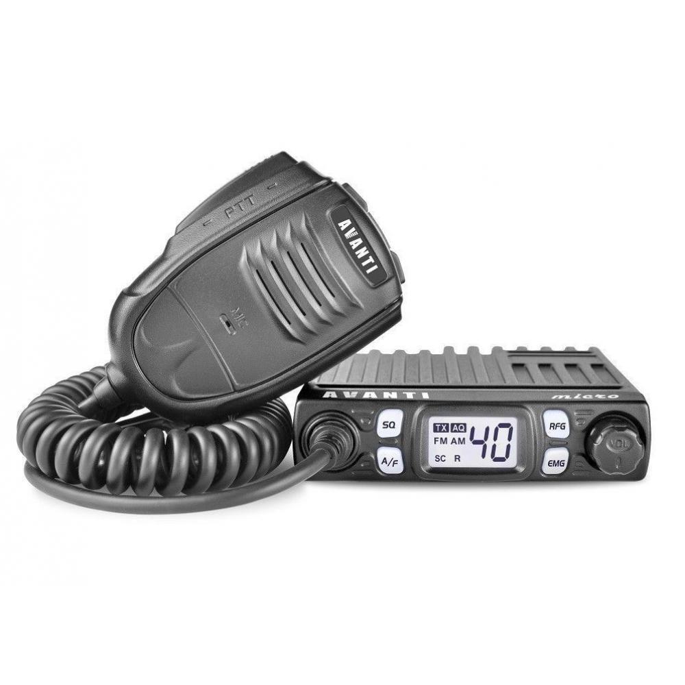 Statie radio CB AVANTI MICRO cu squelch automat,(NOU, cu factura si garantie)