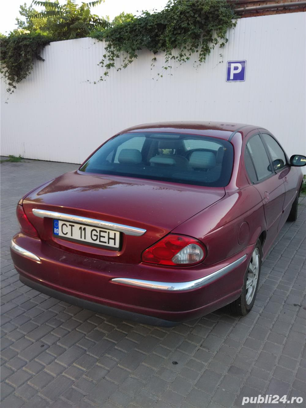 Jaguar x-type si in rate cu avans de 50% minim.