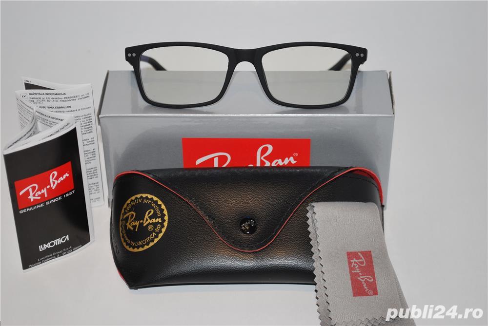 Rame ochelari de vedere RAY BAN 8145 negru mat -  calitate premium