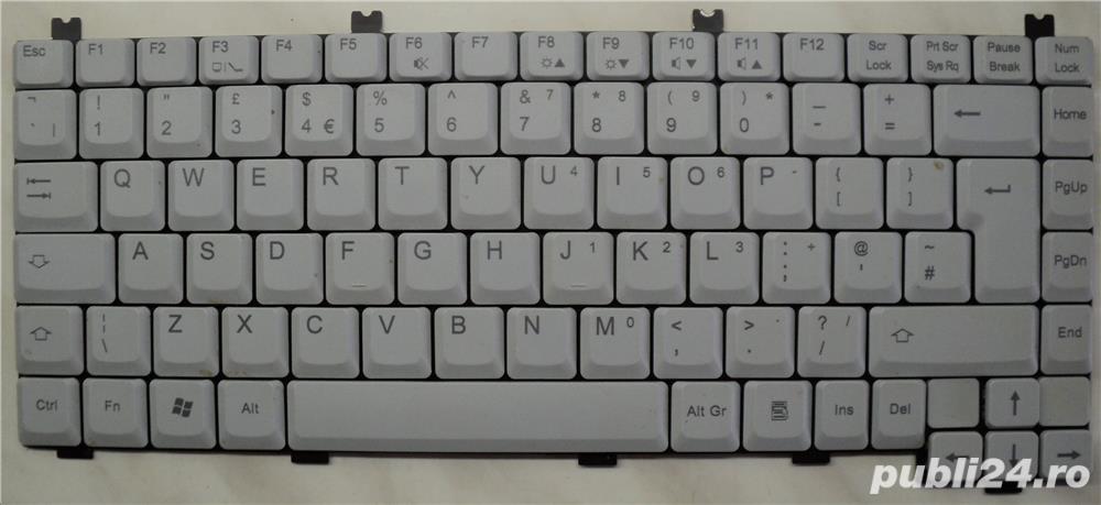 Tastatura Laptop Fujitsu V2010 CODE: K011429F1-XX