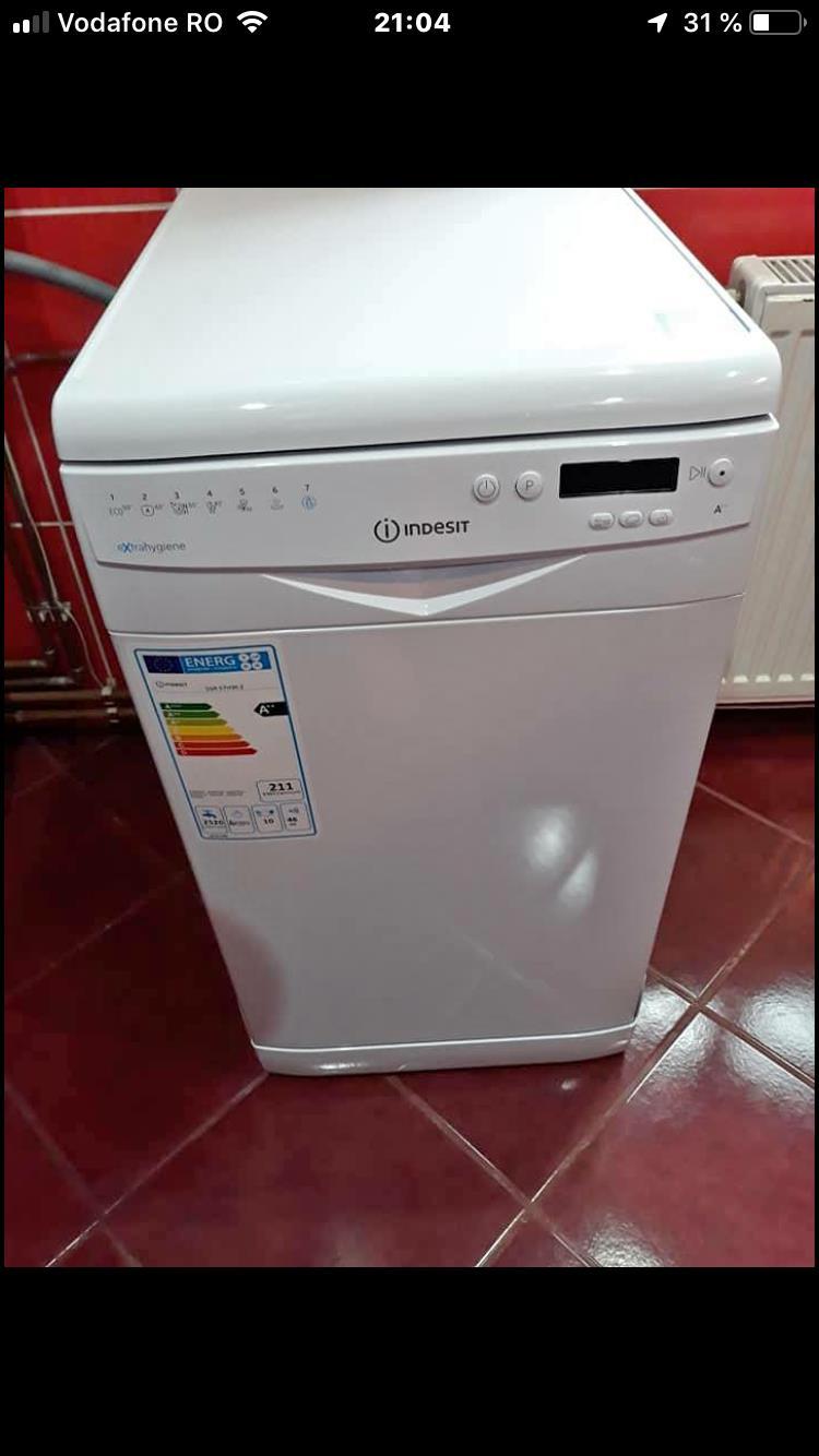 Mașina de spălat vase Indesit clasa energetică A++PRODUS NOU