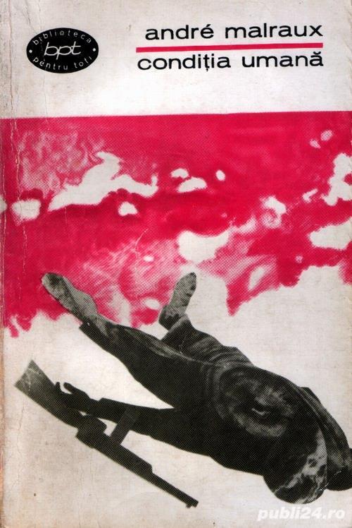 Condiţia umană de André Malraux
