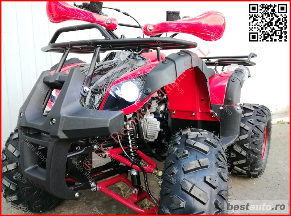 ATV BEMI NEW HUMMER 8 GRIZZLY cutie cu 3 trepte forta +Revers ambreiaj automat