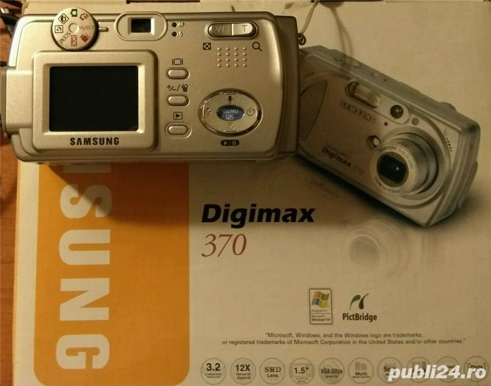 Aparat foto Samsung Digimax 370