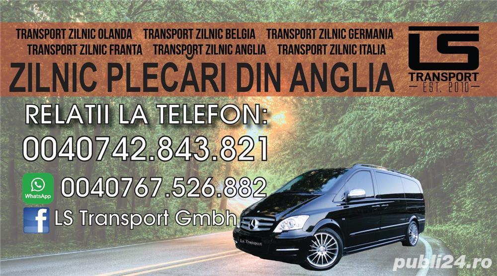 Transport de Persoane Romania - Anglia ZILNIC PLECARI