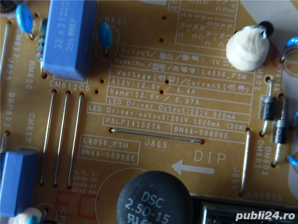 Modul sursa BN44-00806E din LED TV 4k Samsung UE40JU6440W