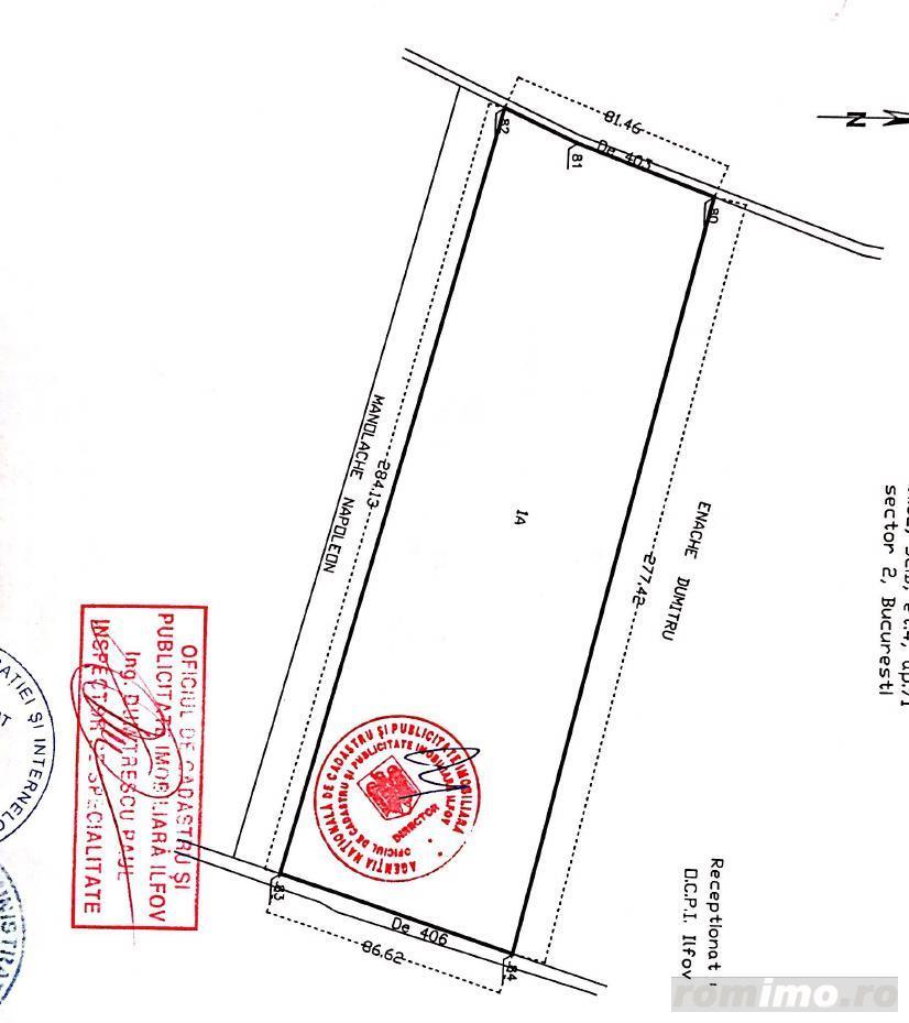 Vanzare  terenuri constructii  23.4 ha Ilfov, Balaceanca  - 117000 EURO