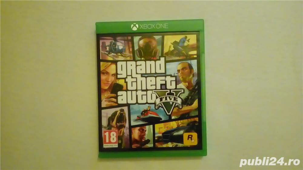 Joc XBOX ONE - GRAND THEFT AUTO V.