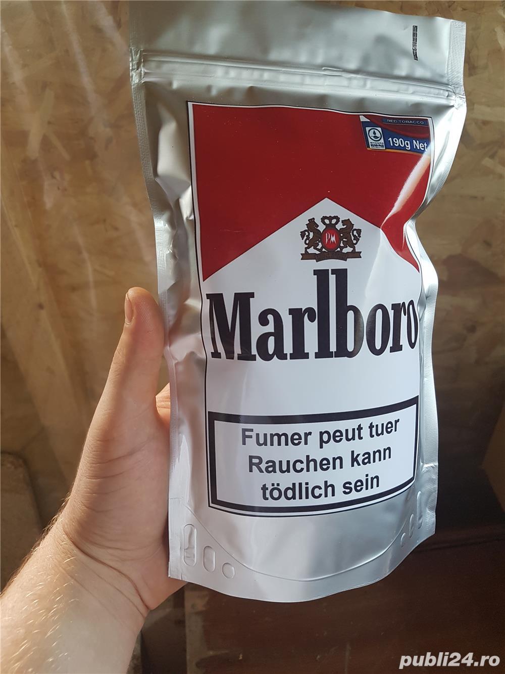 #Tutun Ambalat / Sigilat Marlboro - 190Gr - 50 lei ,pentru injectat/ rulat  ca drum, pueblo, tabac