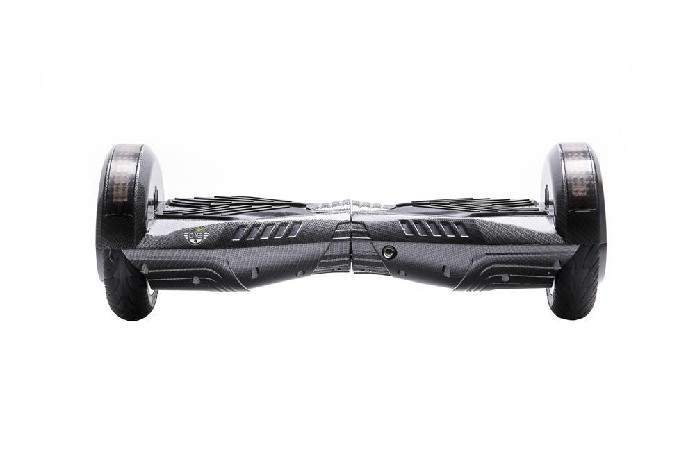 DVE Hoverboard 8 inch Carbon, Bluetooth, Garantie+Factura