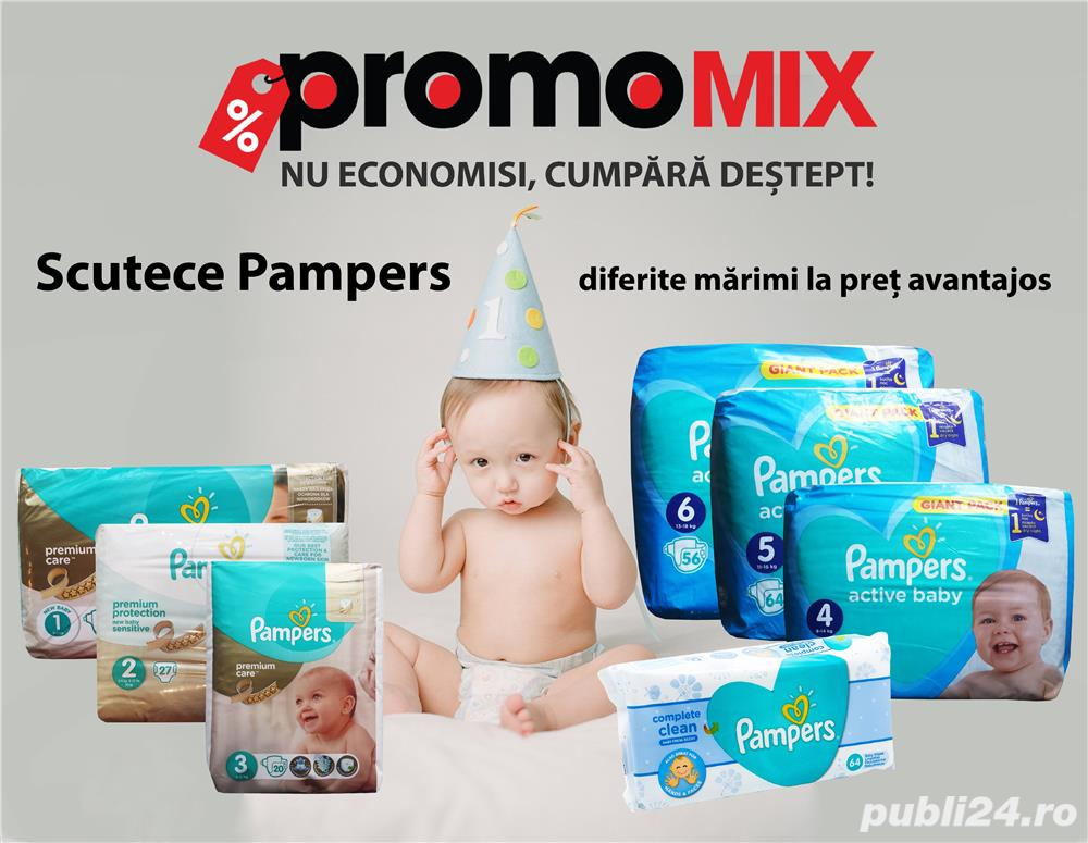 Scutece Pampers Giant Pack