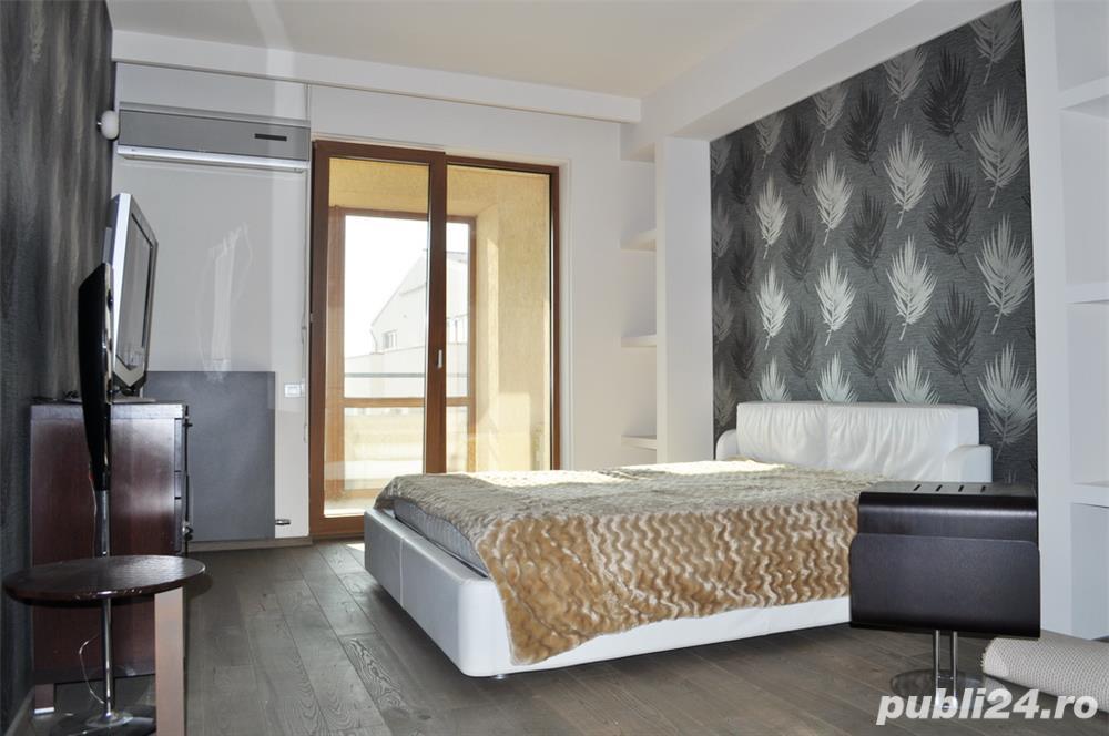 Apartament 3 camere lux Baneasa, 204mp, bloc 2011