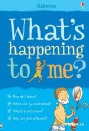 Usborne - What's happening to me? (baieti) - carte copii (NOUA)