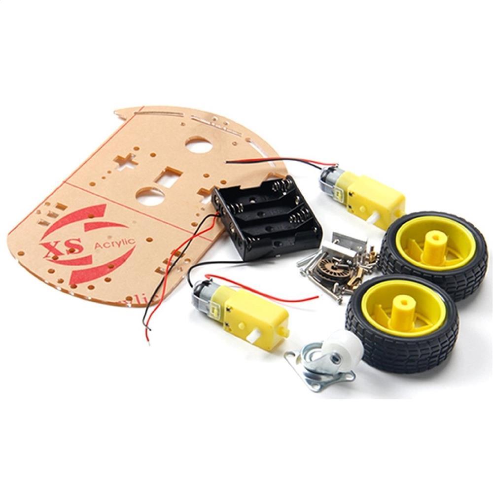 Platforma robot 2WD (Arduino,PIC,rasspbery) pentru licenta, facultate